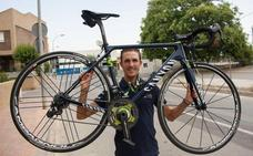 El murciano Rubén Fernández correrá el Giro de Italia con el Movistar