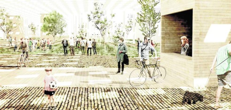 Alumnos de Arquitectura de la UPCT reinventan El Mojón, la colonia San Esteban y La Curva