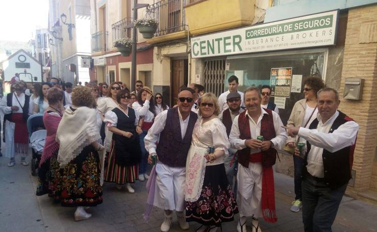 Desfile huertano de San Marcos