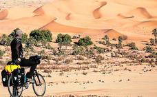 Cerezo, el ciclista que no teme los desiertos