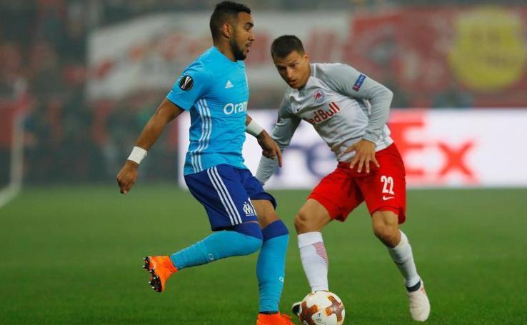 Las mejores imágenes del partido RB Salzburgo-Olympique de Marsella
