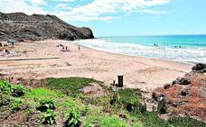 El control de vehículos en las playas de Calnegre se estrena el 15 de junio