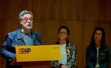 La CUP mantendrá la abstención cuando JxCat proponga su «candidato D»