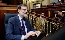 Rajoy relativiza la tensión con Ciudadanos: «Mi mayor adversario es Podemos»