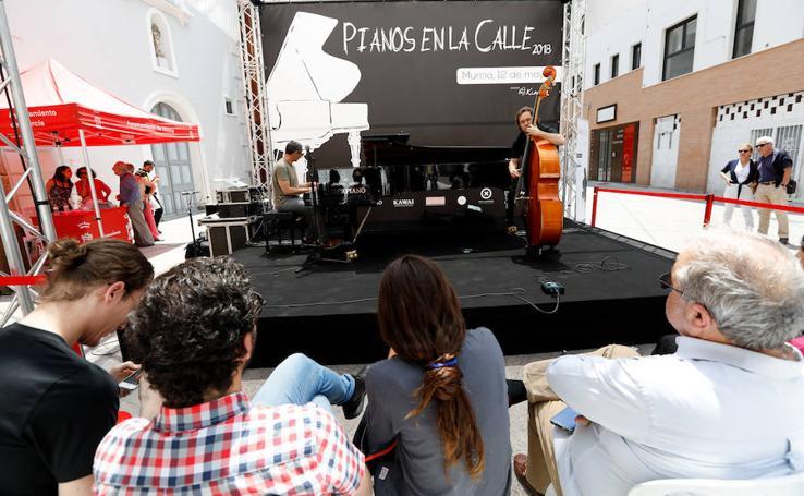 La música clasica inunda Murcia a golpe de tecla