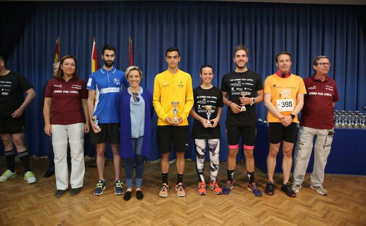 Ganadores de la VIII carrera popular Corre X Lorca
