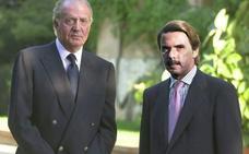 El rey Juan Carlos encargó a Aznar en 2013 un informe político y jurídico sobre la abdicación