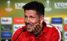 Simeone: «Somos equipos similares, será un partido bastante friccionado»