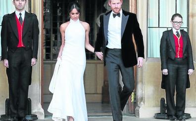 Así fue la fiesta de la boda del Príncipe Harry y Meghan Markle