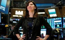 Una mujer conquista el poder de la Bolsa en Nueva York