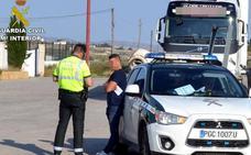 Detenido en Cieza por conducir un camión de 40 toneladas superando nueve veces la tasa de alcohol