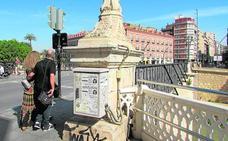 Ahora Murcia exige un plan de restauración integral del Puente Viejo para frenar su deterioro