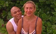 El apasionado reencuentro de Raquel Mosquera con su marido Isi