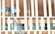 Falsa alarma de incendio en el edificio Moneo