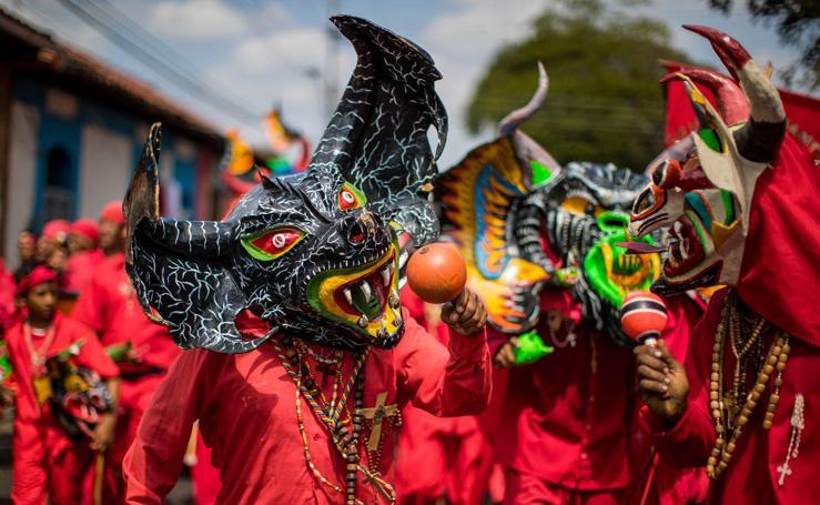 Los diablos celebran el Corpus Christi