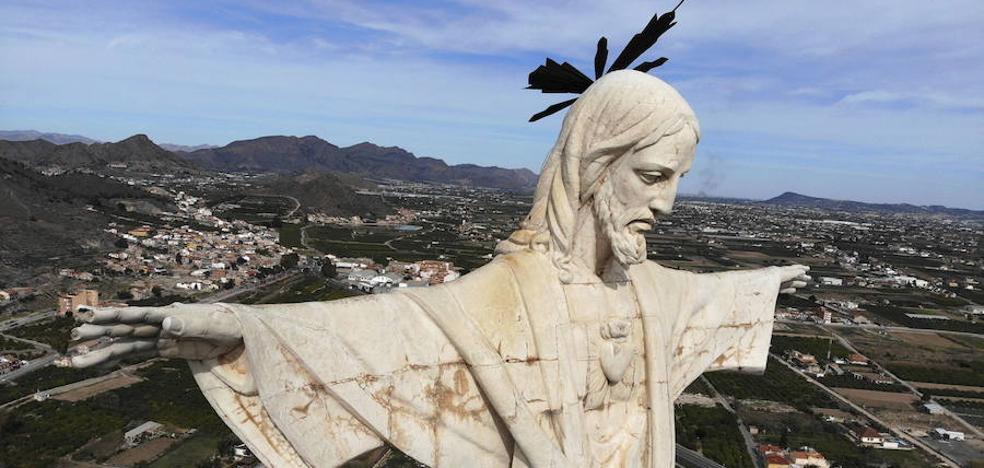El Cristo más grande de España