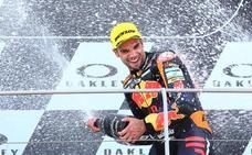 Reaparece Oliveira y Mir vuelve a subir al podio