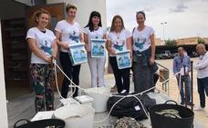 La asociación Hippocampus retira casi 600 kilos de plomo de los fondos marinos de San Pedro