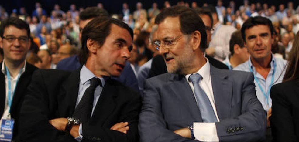 Rajoy a Aznar: «El centro derecha no hay que reconstruirlo»