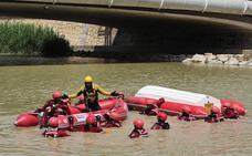 Los Bomberos de Murcia se forman en rescate acuático