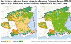 Culpan primero al regadío, que creció del 12% al 63% de la superficie agrícola total