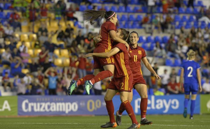 La selección española femenina de fútbol pone pie y medio en el Mundial de Francia