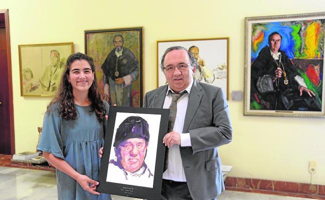 Un boceto con toda la pinta de José Orihuela