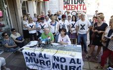 La Plataforma Pro Soterramiento pide a la oposición que no se ponga de perfil ante unas obras «ilegales»