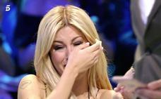 Oriana Marzoli rompe a llorar en el plató de 'Supervivientes'
