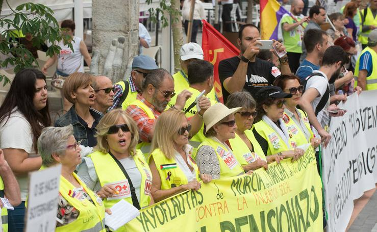 Las Marchas de la Dignidad salen a la calle bajo el lema 'Lucha por lo de todas'