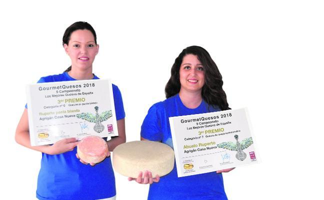 Llorema Madrid y Victoria E. Mercader: «Decidimos crear el primer queso azul de la Región buscando la diferencia»