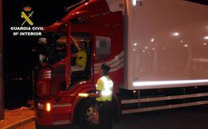 Arrestado un camionero en Santomera por quintuplicar la tasa de alcohol