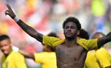 Neymar ha llegado a tiempo
