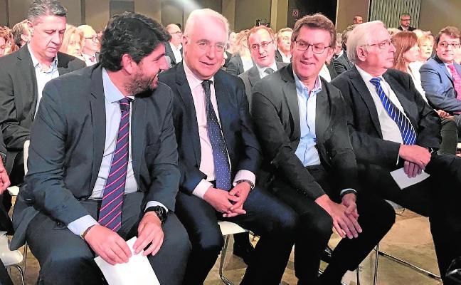 López Miras defiende una candidatura única para suceder a Rajoy