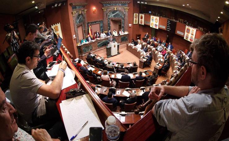 Segunda jornada del Debate del estado de la Región