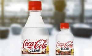Coca-Cola lanza su primera bebida transparente