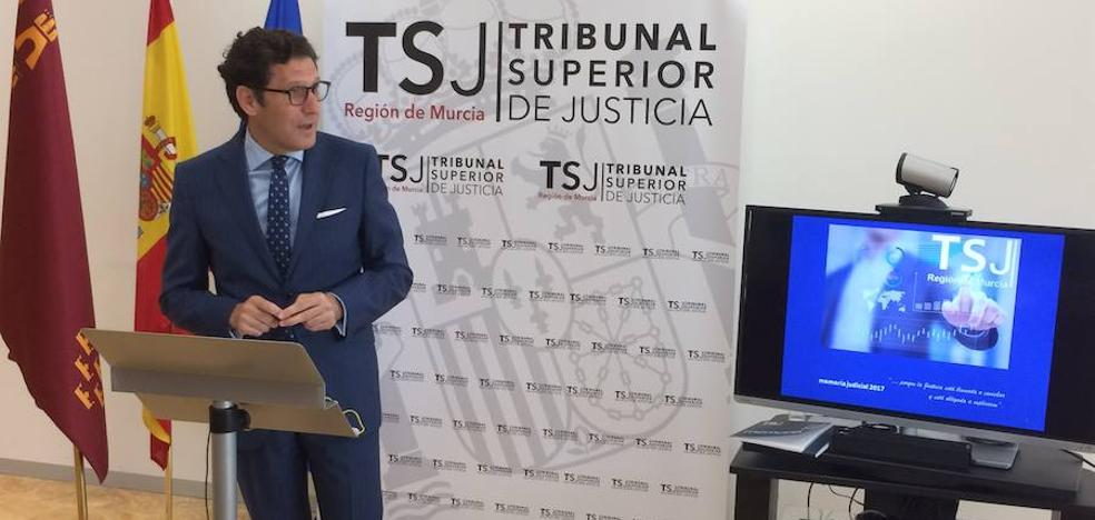 El TSJ reclama 33 nuevos juzgados para la Región