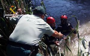 Buceadores de la Benemérita hallan en el río el arma usada en el tiroteo de Las Torres