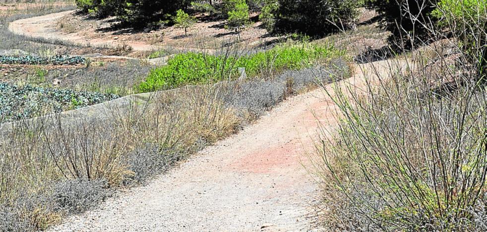 Los vecinos exigen terminar el asfaltado de una vía de evacuación
