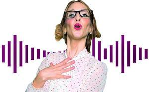 La mujer manda con menos voz