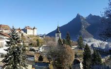 Gruyères, una ciudad de cuento entre los verdes campos de Suiza