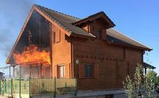 Incendio en la 'casa de Noé'