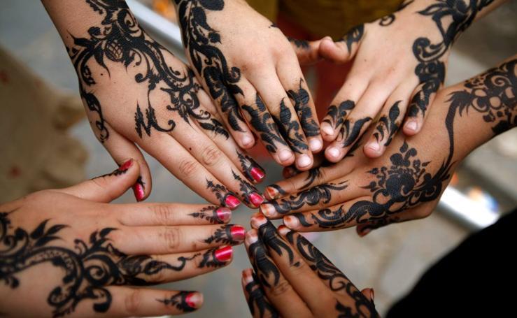 Henna para despedir el Ramadán