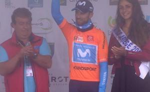 Valverde se viste de líder tras ganar la etapa reina de la Ruta de Occitania