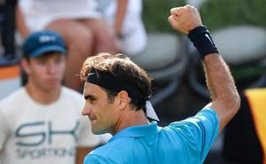 Federer pasa a la final en Stuttgart y recupera el número uno mundial