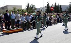 Homenaje a la Brigada Paracaidista en Corvera