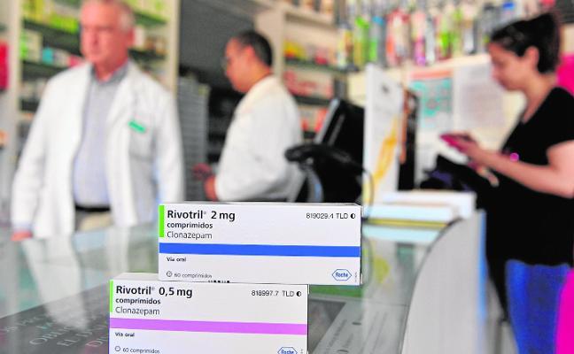 Las farmacias detectan decenas de recetas de Rivotril falsificadas por mafias de la droga