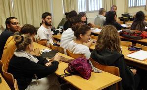 Aumenta la oferta de plazas un 5% en las universidades públicas de la Región