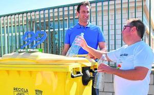 Distinción por ser el municipio que más recicla