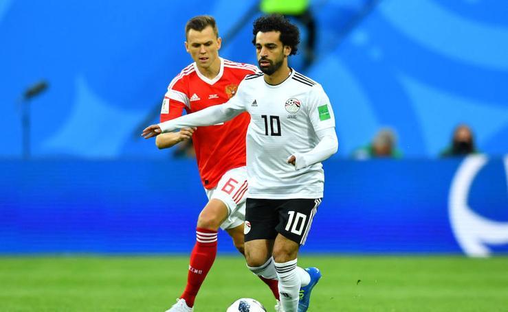Rusia-Egipto, en imágenes